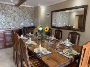 Modjadji Estate Shared Dinning Room